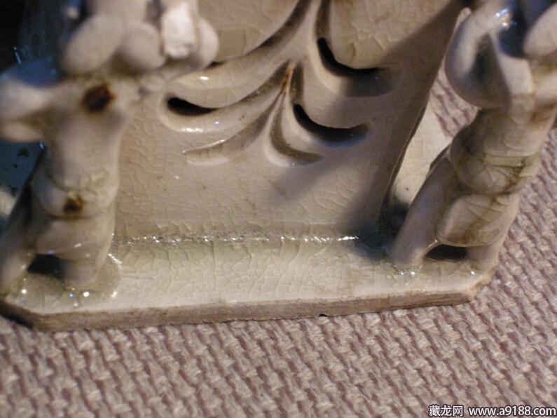 定州博物馆白釉圆托五兽足熏炉-宋瓷赏珍 定窑 上