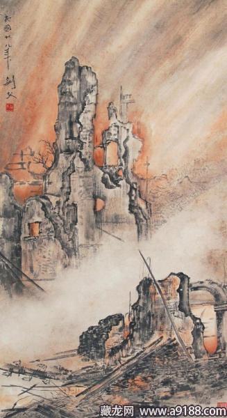岭南画派创始人高剑父的海上情缘图片