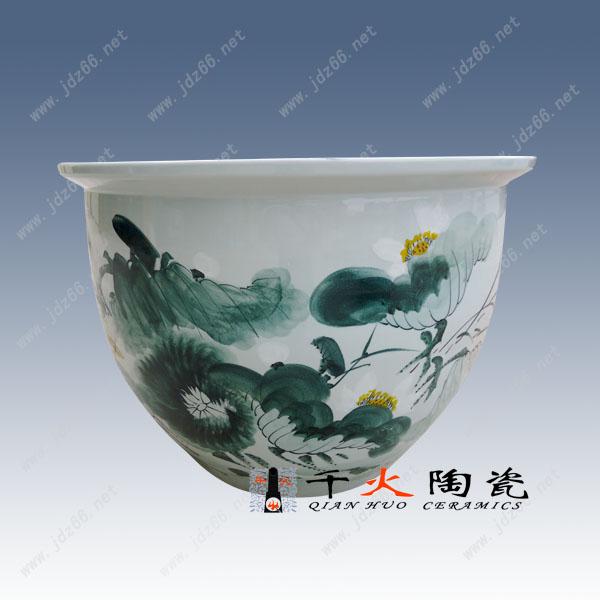83、荷塘清韵陶瓷缸DJDGQQBQQ08..